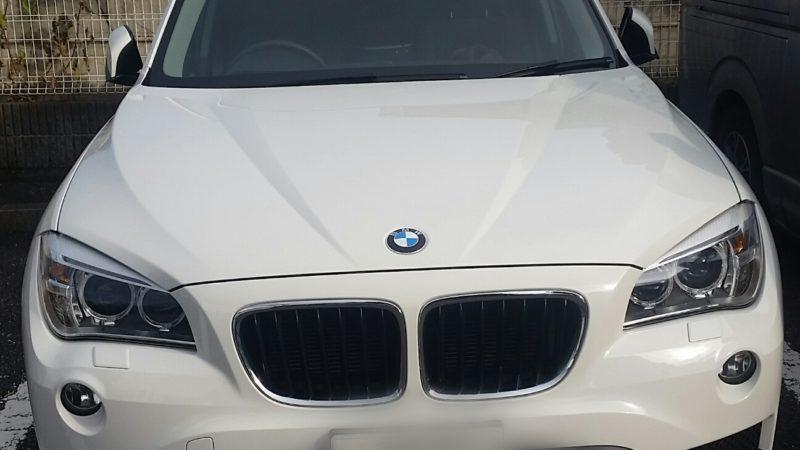 BMW X1カギ開け作業